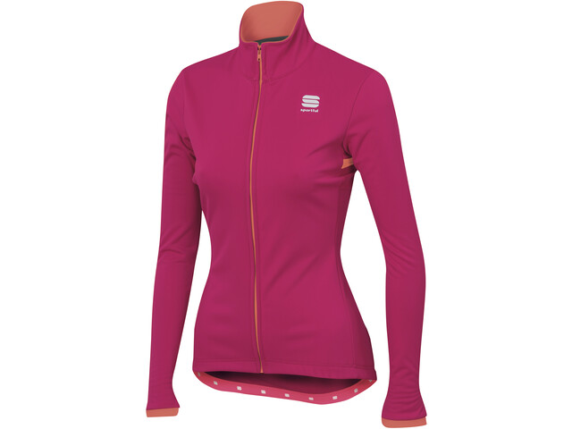 Sportful Luna Softshell Jacket Damen love potion/red